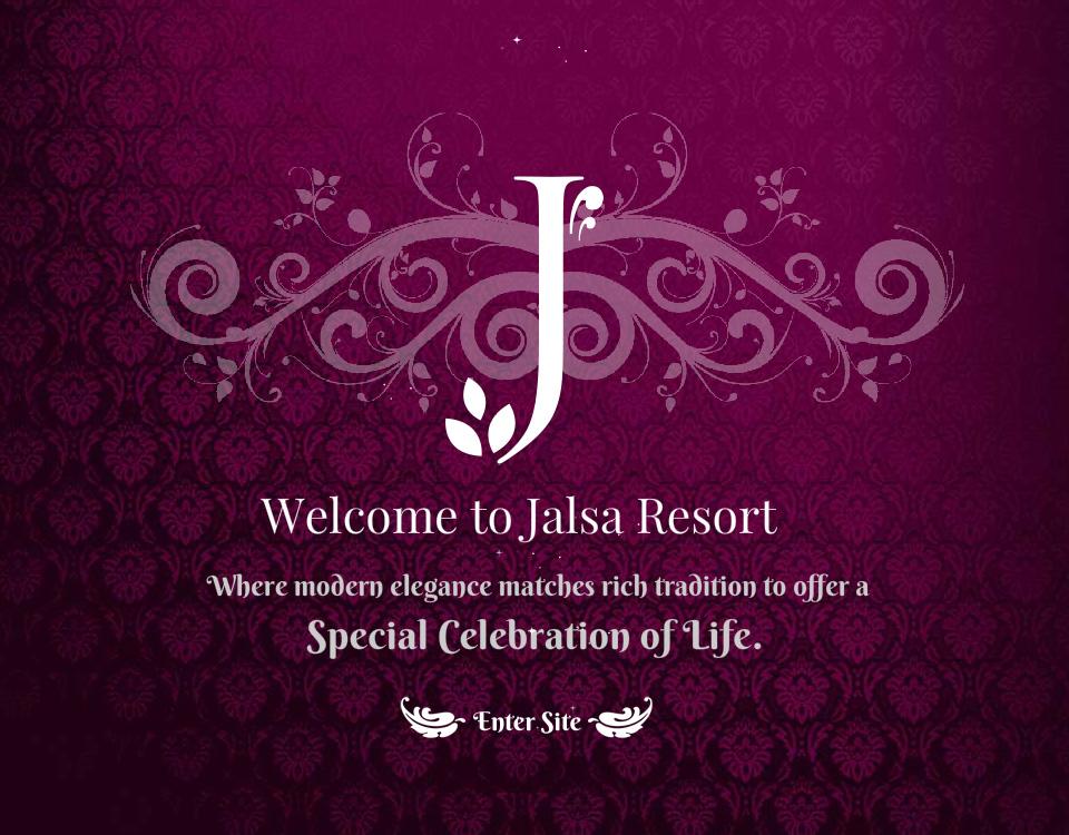 Jalsa-Resort-Website