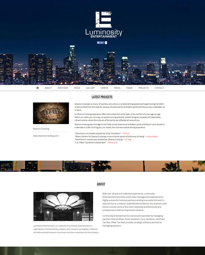 Luminosity-portfolio