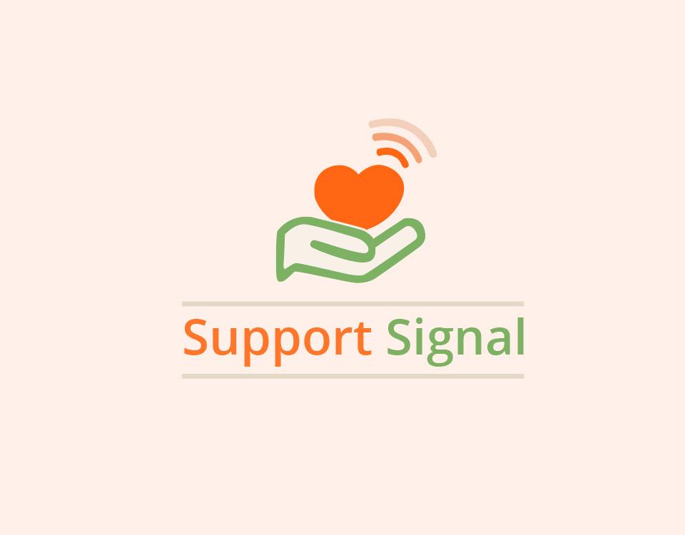 support-signal-logo-design