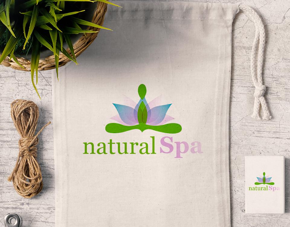 natural-spa-logo-design