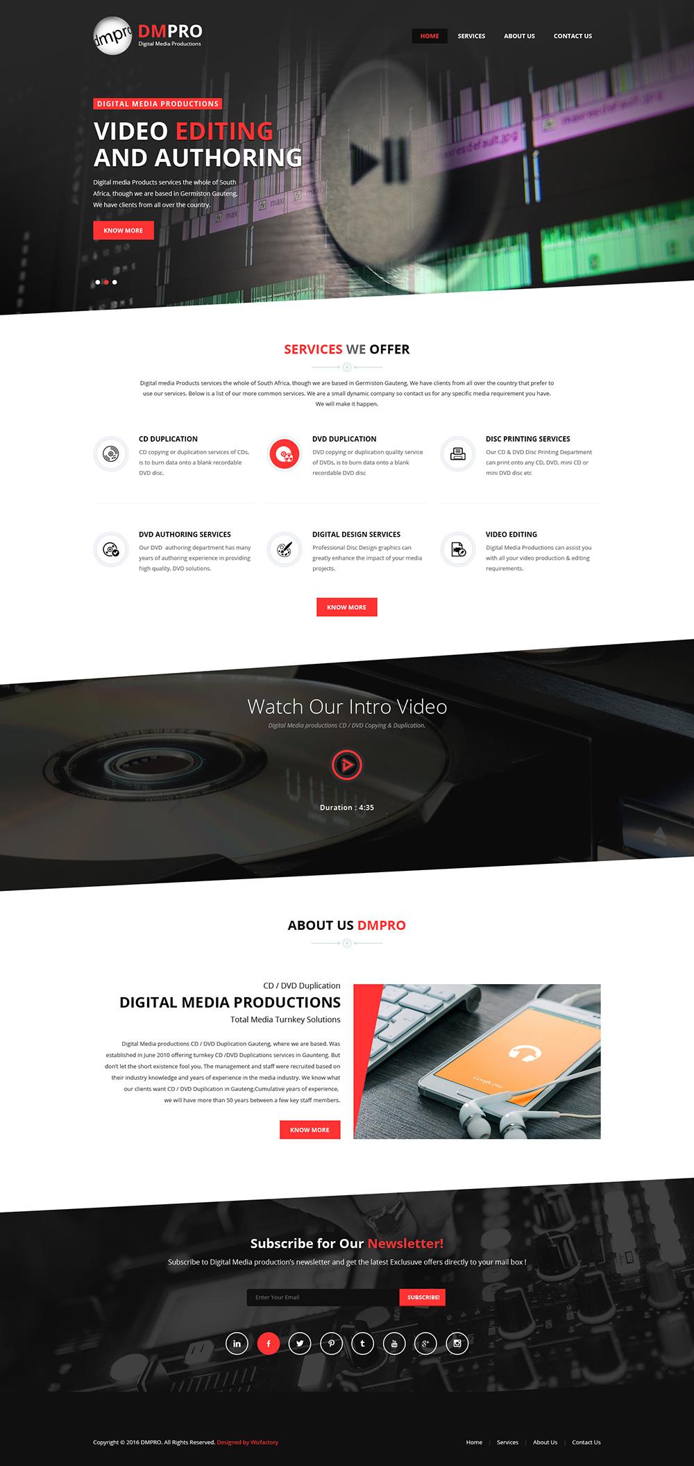 dmpro-website